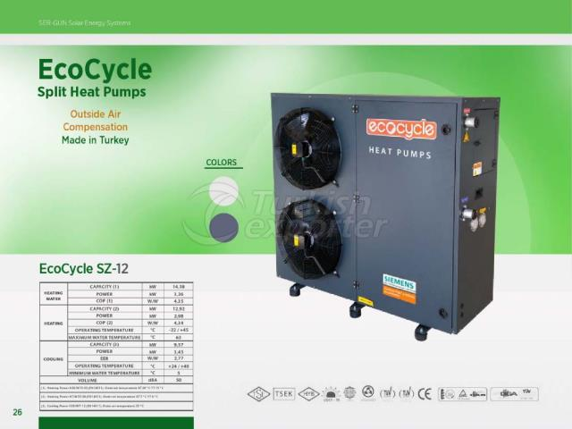 Heat Pump ECOCYCLE SZ-12