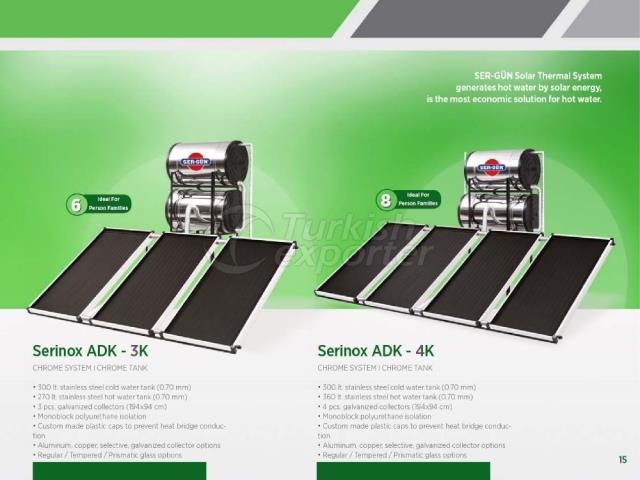 Solar Energy Serinox ADK-3K - 4K