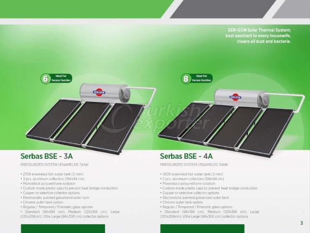Solar Energy Serbas BSE-3A - 4A