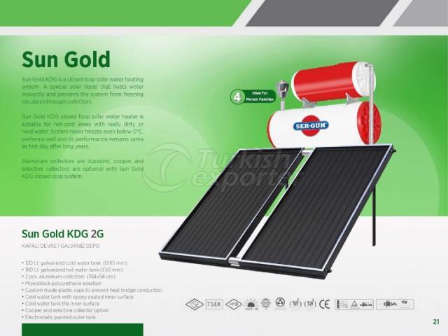 Solar Energy Sun Gold KDG 2G