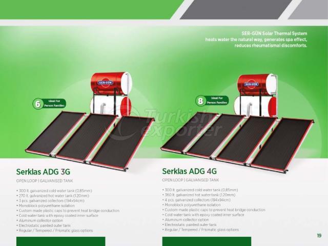 Solar Energy Serklas ADG 3G - 4G