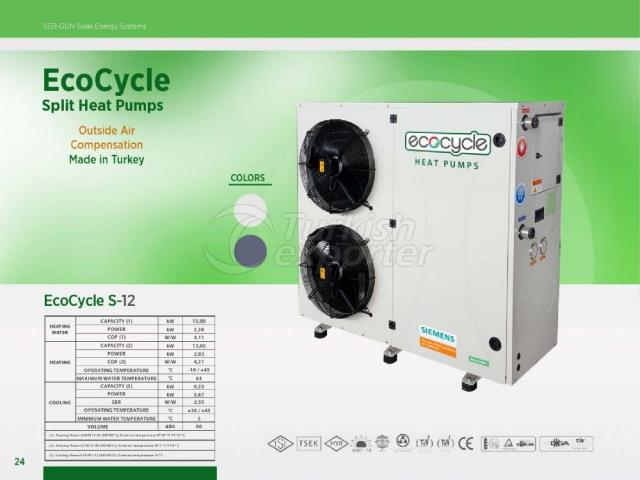 Heat Pump ECOCYCLE S-12
