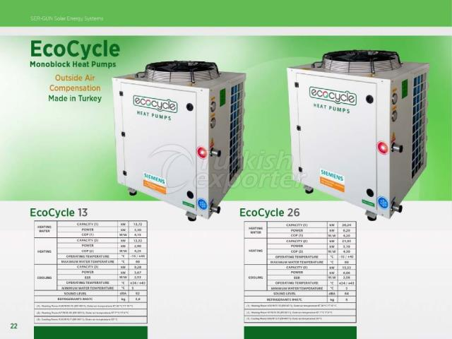Heat Pump  ECOCYCLE 13 - 26