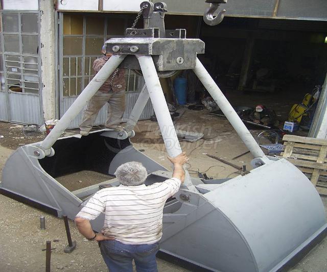 portal crane bucket manufacturer