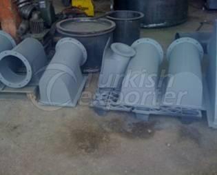 airy bands pouring buckets manufacturing