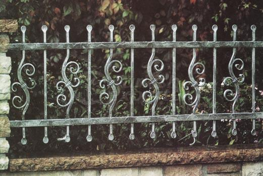 wrought iron balustrades