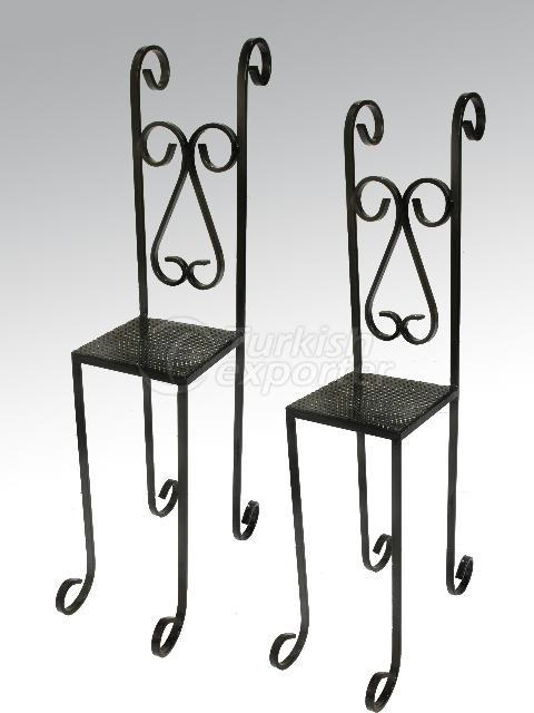 decorative wrought iron chairs