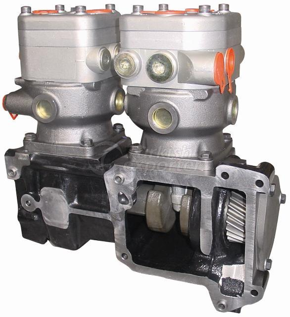 Air Compressor Twin Cylinder Water Cooler