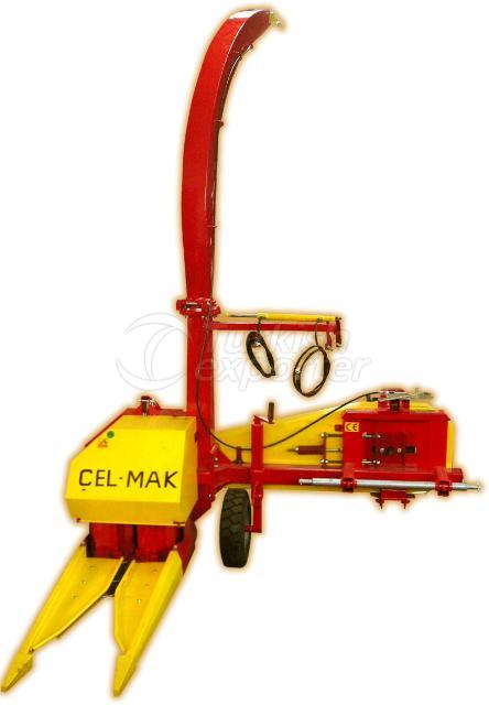 Single Row Corn/Maize Forage Harvester With Belt