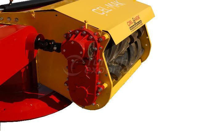 Rotary Drum Mower with Squezing Roller