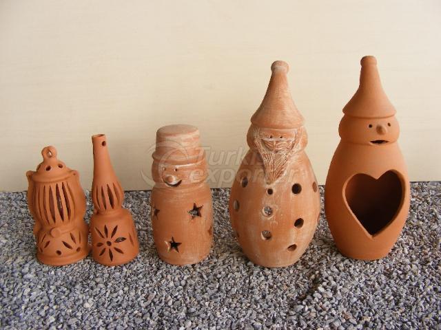 декоративные изделия из глины ATIZ