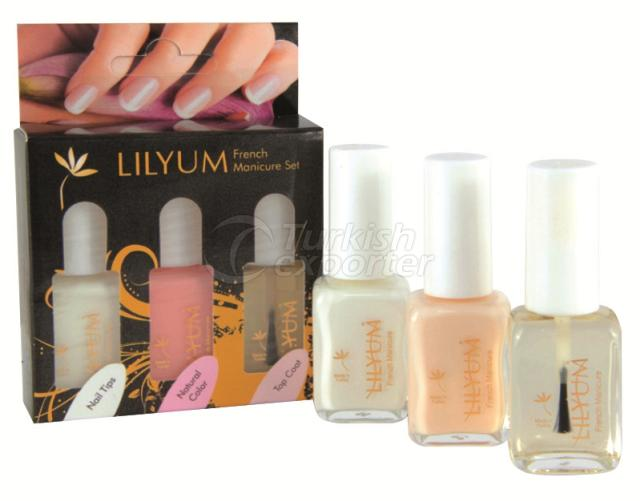 French Manicure Set Lilyum
