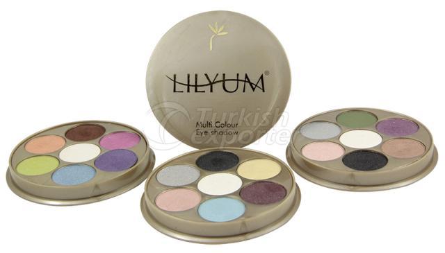 Multicolor Eyeshadow Palette Lilyum
