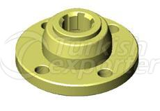 Flange Small 6 Spline