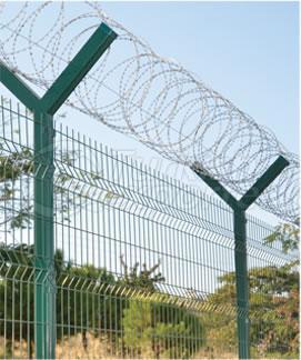 Concrete-Metal Fence Posts