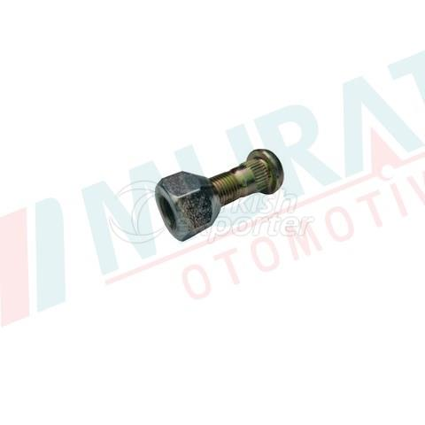 WHEEL BOLT AND NUT FRONT