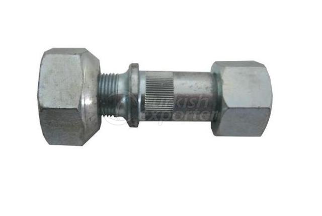 WHEEL BOLT AND  NUT FRONT RIGHT