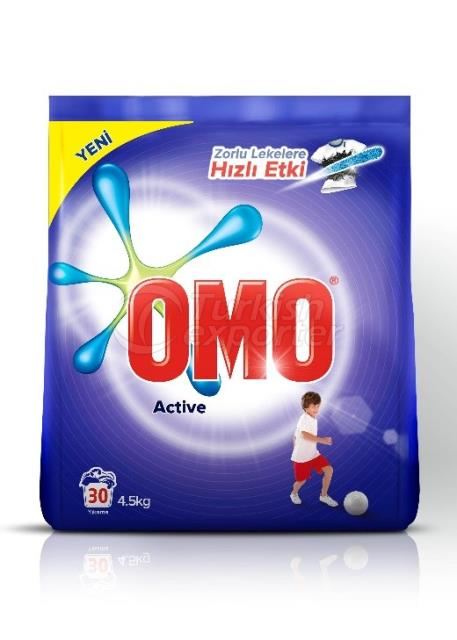 OMOMATIK ACTIVE POWDER DETERGENT