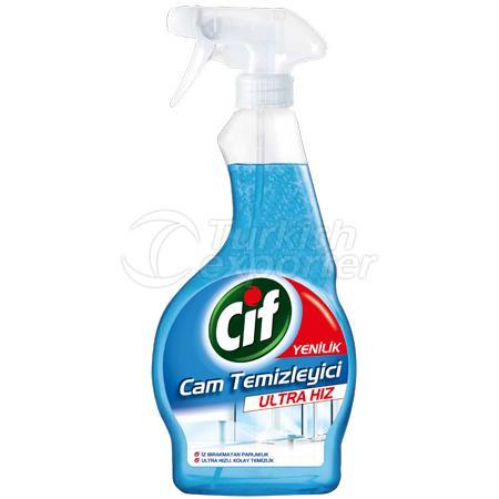 CIF GLASS CLEANER SPRAY ULTRA SPEED
