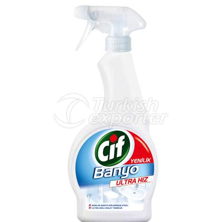 CIF BATHROOM SPRAY ULTRA SPEED