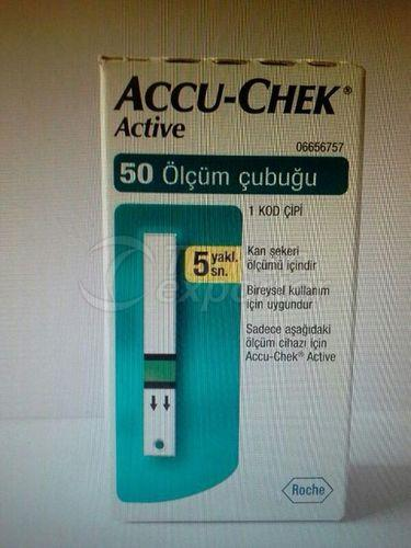 Accu Chek Active 50 Test Strips