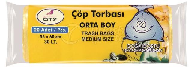 T-147 Medium Trash Bags