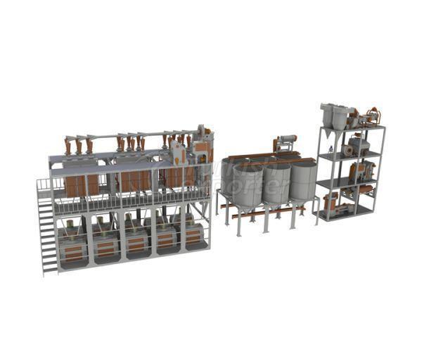 Flour Factory 145-150 Ton-Day