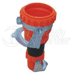 Pe Clamp Fittings-Reduction