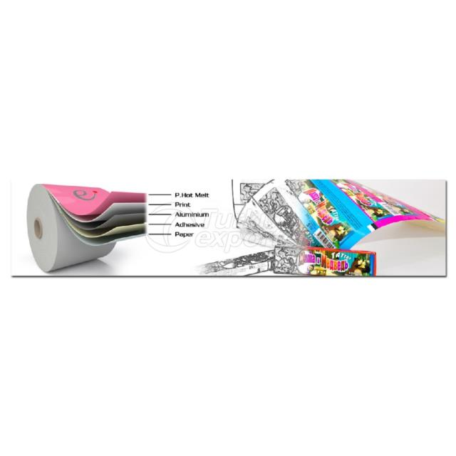 Multi Chewing Gum Wrapper