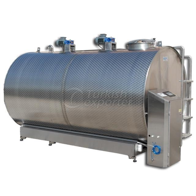 10.000 Lt. Milk Cooling Tank