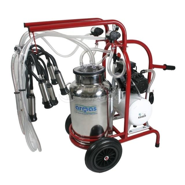 Mobile Cattle Milking Machine