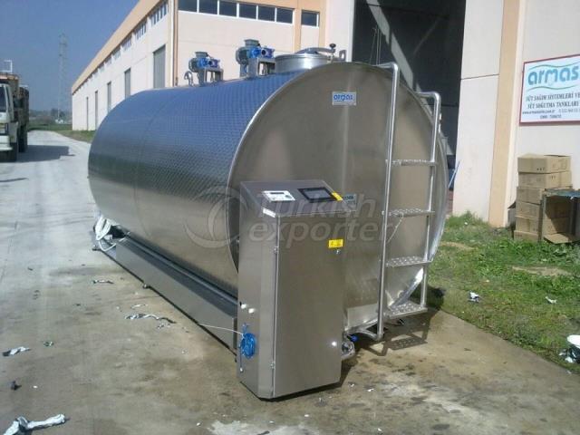 3.000 Liter Milk Cooling Tank