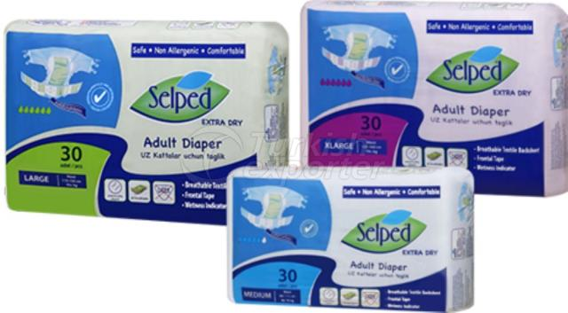 Adult Patient Diapers Selped