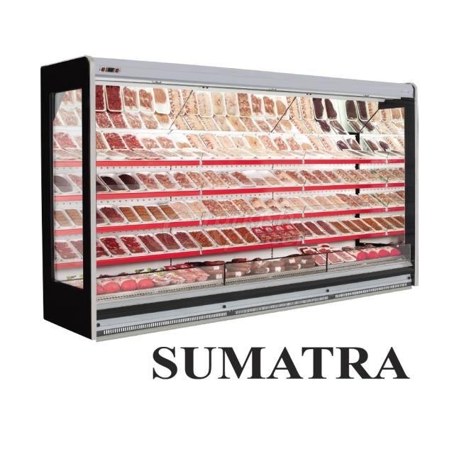 Vertical Display Cabinets Sumatra