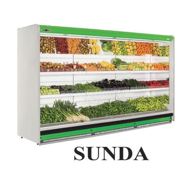Vertical Display Cabinets Sunda