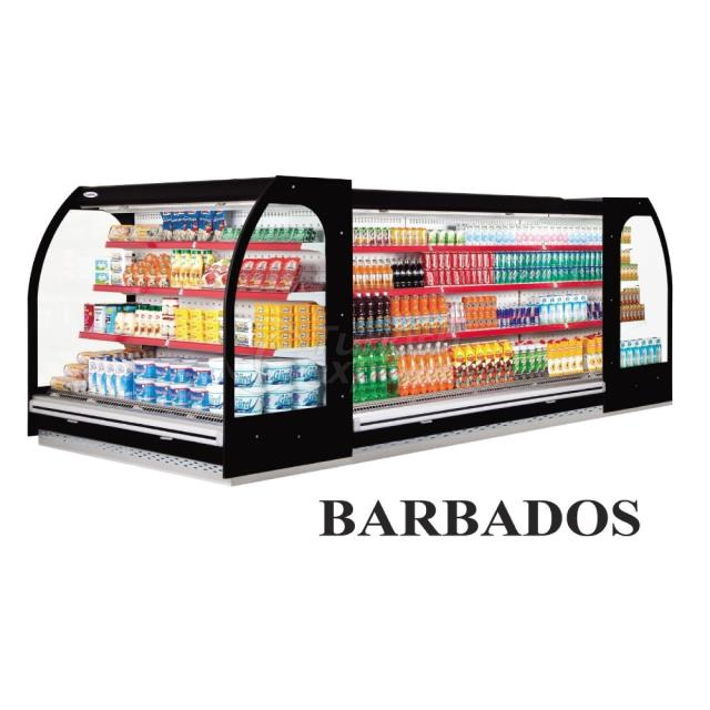 Vertical Display Cabinets Barbados