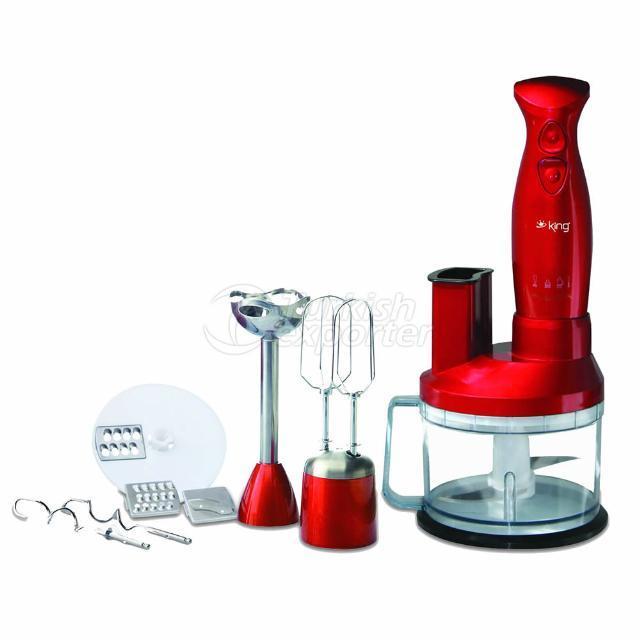 Food Processor Scarlet