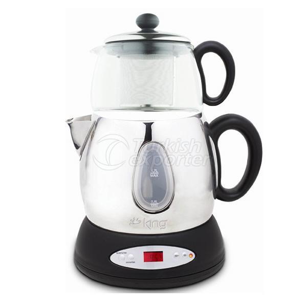 Tea Maker With Automatic Pots