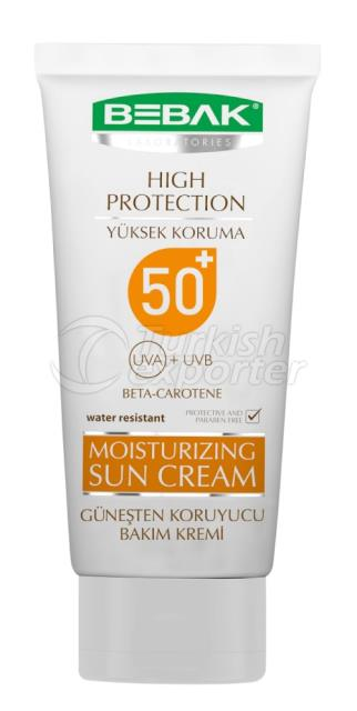 Moisturizing Sun Cream Bebak 75ml