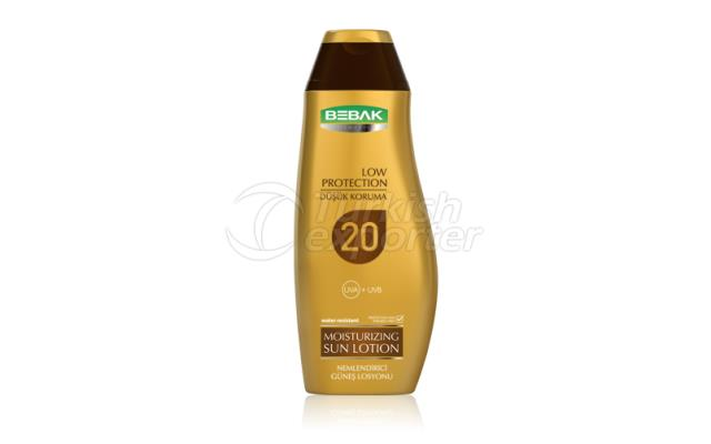 Sun Lotion 20 SPF  Bebak 300ml