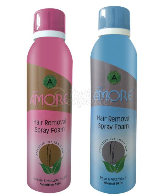 Hair Removal Sprey Foam Amore