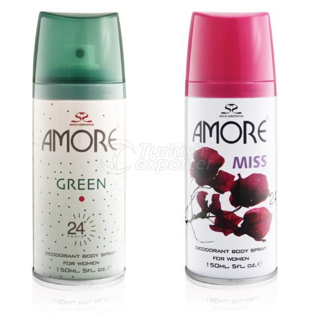 Women Deodorant Amore 150ml