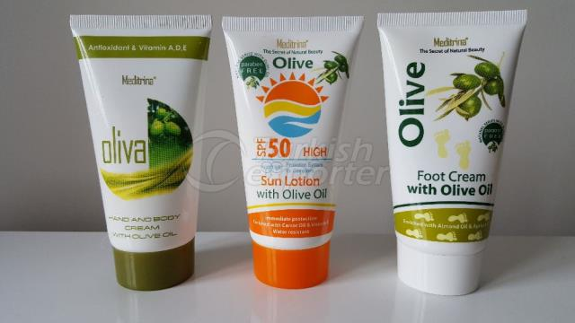 Natural Cream Series with Olive Oil