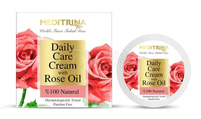 DAILY CARE CREAM WITH ROSE OIL