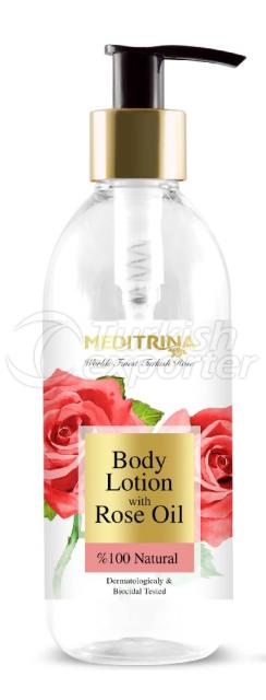 BODY LOTION WITH ROSE OIL 250ML