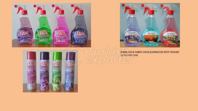 Air-Fabric Odor Eliminator