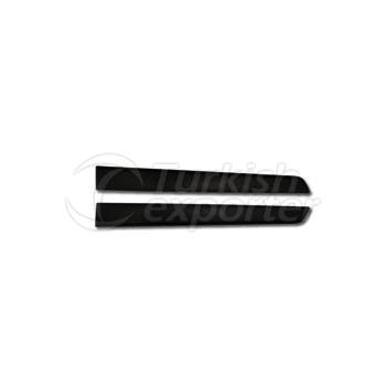 Door Moulding Rear Left - Renault / Clio