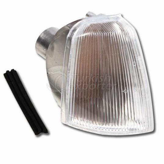 Front Signal Lamp Without Bulb Holder Right  - Renault / R 19