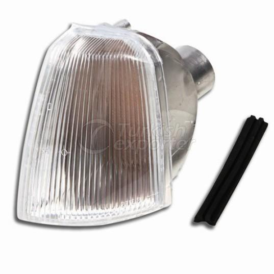 Front Signal Lamp Without Bulb Holder Left - Renault / R 19