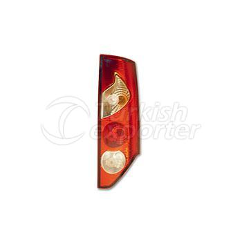 Tail Lamp Single Gate (Vertical) Without Bulb Holder Right - Renault / Kangoo